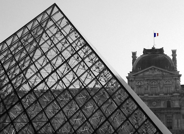 Louvre Museum - Old and The New