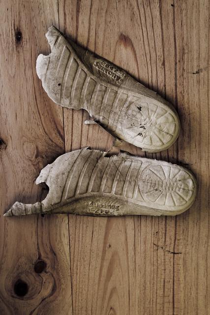 soles worn thin (2012)