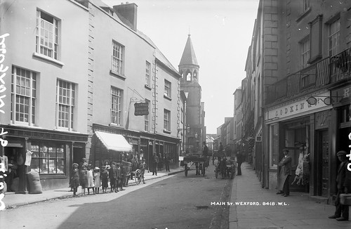 Main Street, Wexford by Lawrence Studios | by National Library of Ireland on The Commons