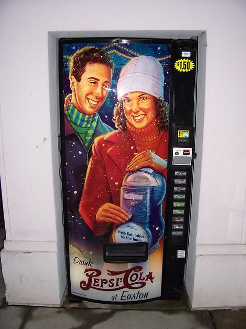 Winter Vending Machine at Easton Mall #1