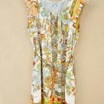 050416(-1420)-剪标-仿真无袖连衣裙-SML-浅绿色-浅黄色 S-长82胸84腰78 (1)