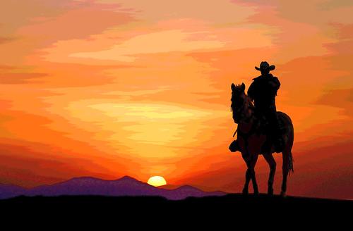 Cowboy sunset | by jamesg1545