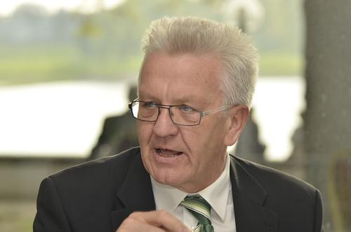 Im Gespräch: Sylvia Löhrmann und Winfried Kretschmann | by gruenenrw