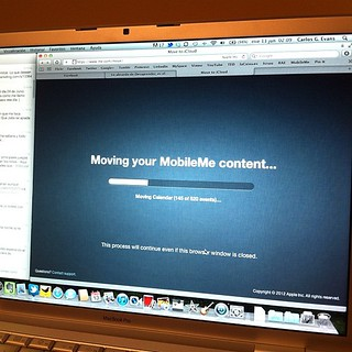 Moving your MobileMe content... - Hallo iCloud!
