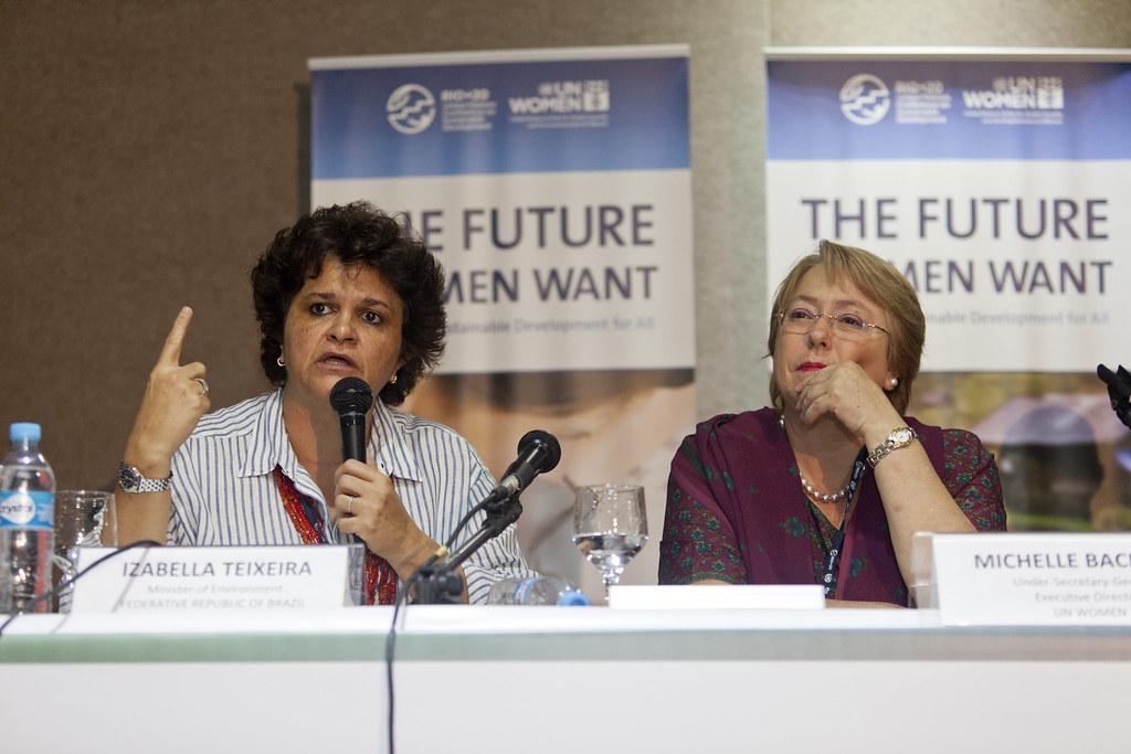 UN Women Leaders Forum at Rio+20   Izabella Teixeira