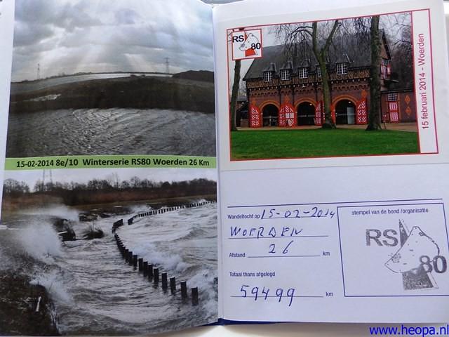 15-02-2014 Woerden 26 Km (98)