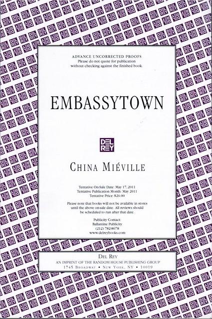Mieville, China - Embassytown (2011 TPB ARC)