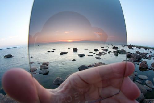 landscape photography essential tool - graduated neutral density filter | by Kain Kalju