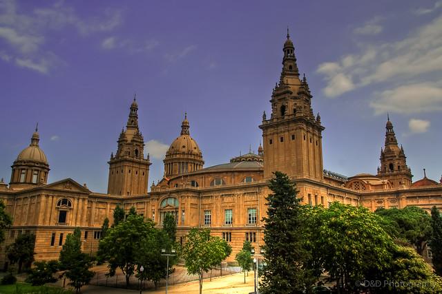 National Museum Of Catalonia Art