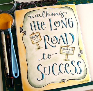 road to success   by elvie studio
