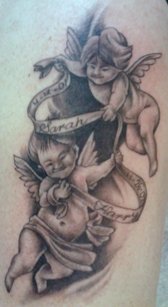 Nice Baby Angels Tattoo Ideas Design 198 Tattoosaddictco