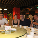 Our first meal in Beijing
