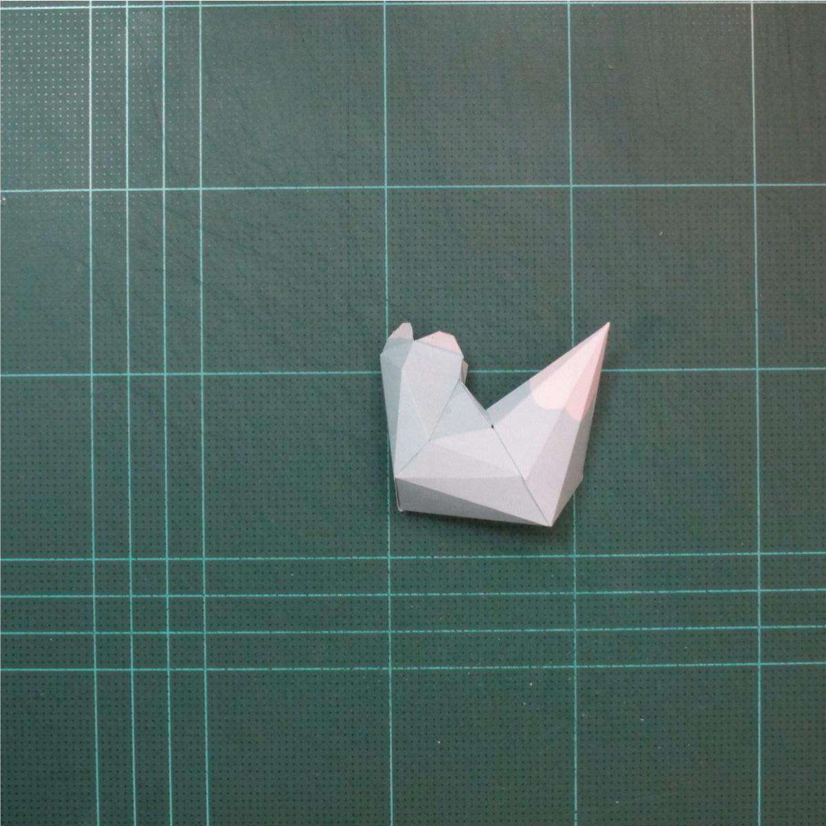 วิธีทำโมเดลกระดาษคุกกี้รันจิ้งจอกเก้าหางในร่างหมาจิ้งจอก (Cookie Run Ninetails Fox Form Papercraft Model) 008
