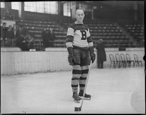 Eddie Shore of the Boston Bruins, 1934-1935 | by Boston Public Library