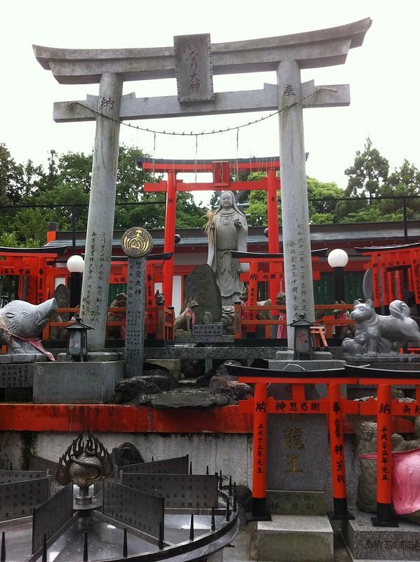 Inari, the rice goddess