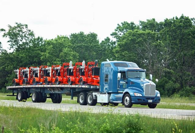 Melton Truck Lines KW