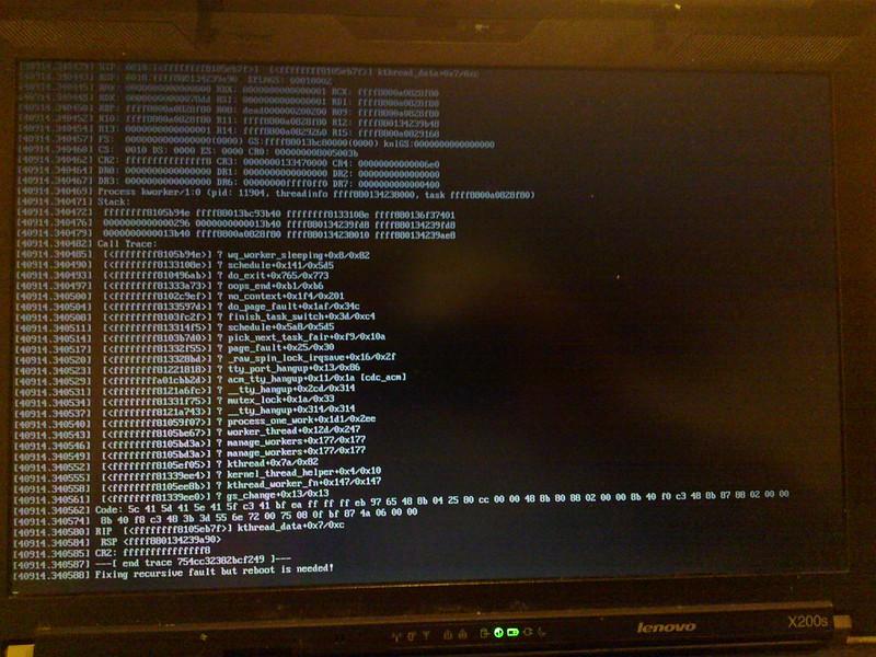 kernel oops 1