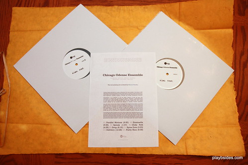 Chicago Odense Ensemble Test Pressing Unwrapped | by playbsides