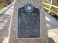 Ohio Street Bridge, Wichita Falls, Texas Historical Marker