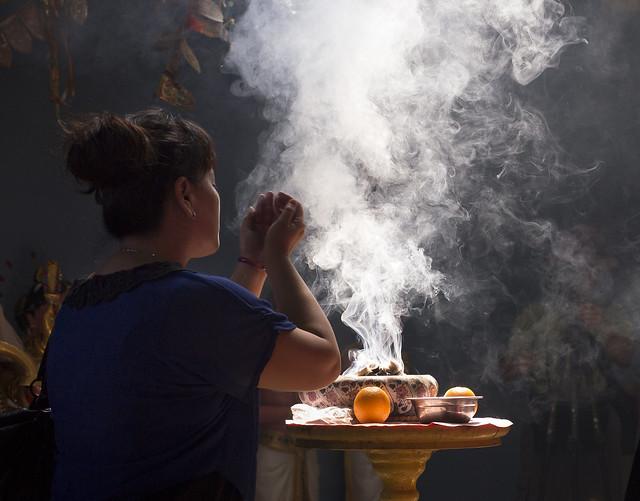 Temple Smoke III