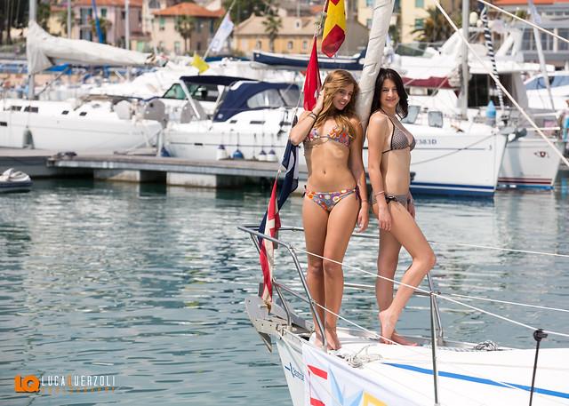 Expomare con le Modelle Miss Blumare by Mario Piccioni
