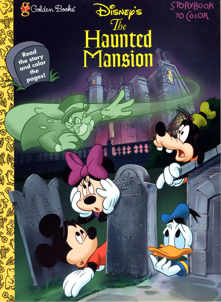 Haunted Mansion Coloring Book 1998  Disney's The Haunted Ma…  Flickr
