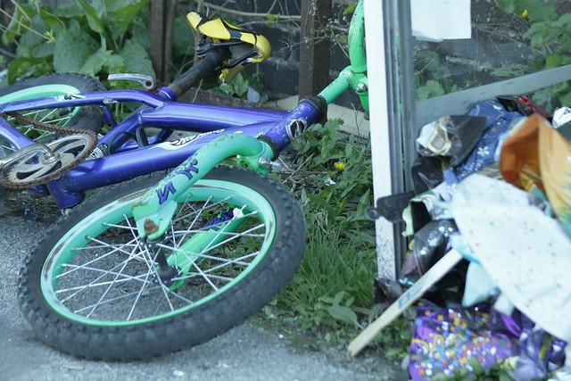 Hot wheels bicycle