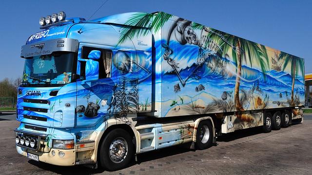 PL - Frigo-Transport >Geister der Südsee IV< Scania R HL