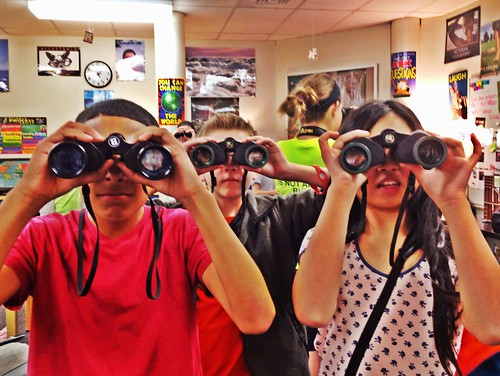 Binoculars in the classroom! | by LauraGilchristEdu