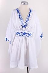 Vintage Summer Embroidered Dress