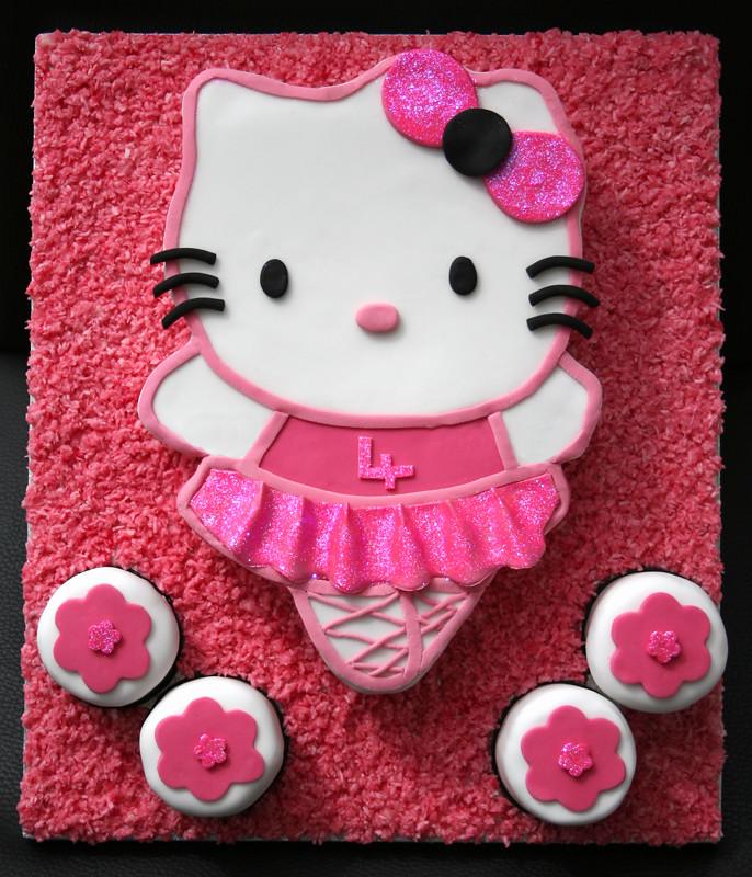 7869eb07c Hello Kitty ballerina cake   Vicky Robertson   Flickr