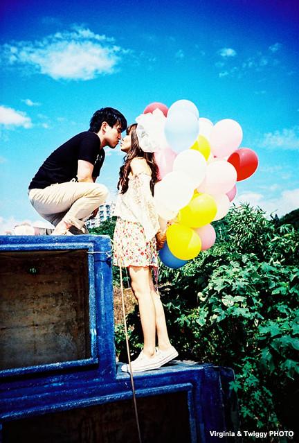 Film x Lomo Pre-Wedding Photo - Zhe ❤ Debby *2