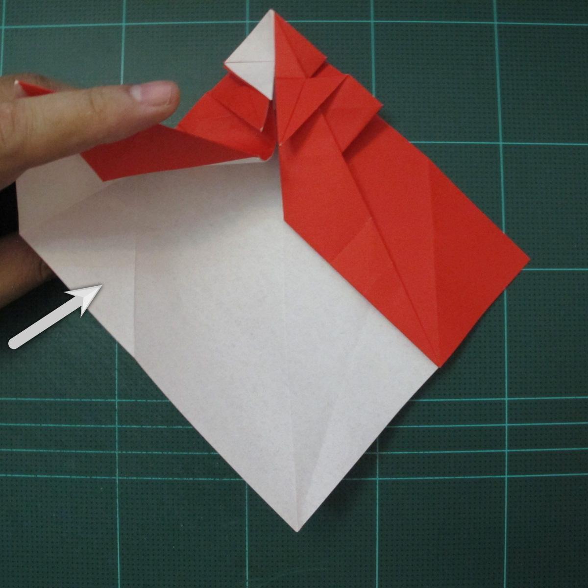 การพับกระดาษเป็นรูปสัตว์ประหลาดก็อตซิล่า (Origami Gozzila) 026
