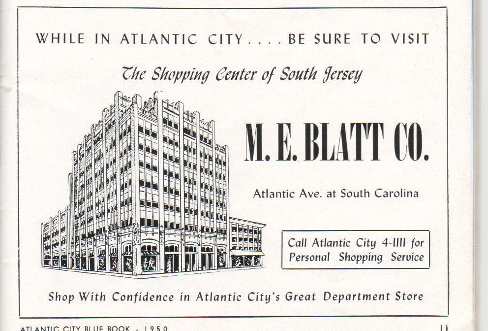 Atlantic City Ad M E  Blatt Department Store | Kevin Mueller | Flickr