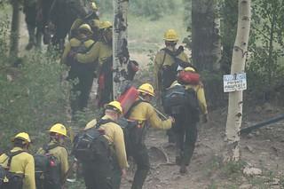 Crews preparing to protect the Pajarito Mountain Ski Area