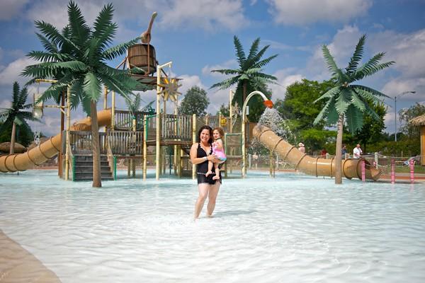 Moments migiques au  Parc aquatique Amazoo Yoplait