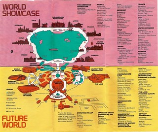 EPCOT Center map 1983 3 | by Gator Chris
