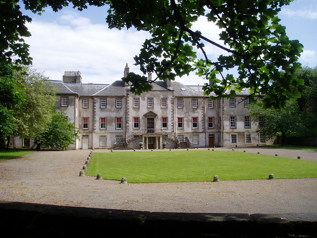 Newhailes, the library once held Ten Thousand books.