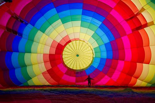 Cappadocia Balloon Inflating   by blieusong