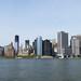 New York – pohled od Sochy Svobody na jižní cíp Manhattanu, foto: Luděk Wellner
