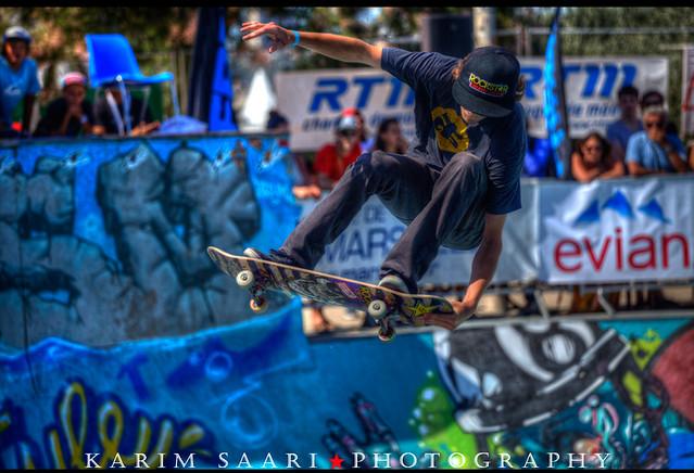 ★ Marseille, Sosh Freestyle Cup (World Cup Skateboarding) ~ Karim SAARI ©