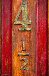 4 1/2 Door number - Leslieville | by Phil Marion