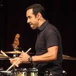 Antonio Sanchez & Migration at the Moss Theater, Sunday, June 28, 2015. Photos reproduced by George W. Harris' kind permission.