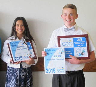 Thu, 06/04/2015 - 16:47 - Ariana deSa-Frias of St. Joseph's School and Kellen Bell of Perry Central School