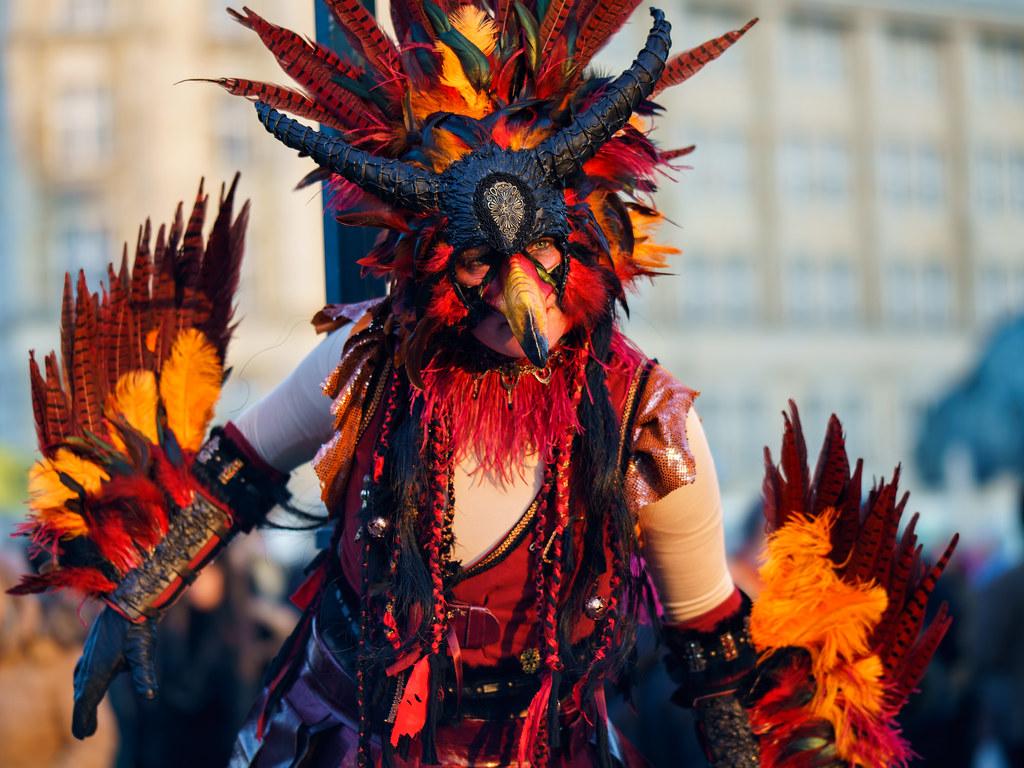 Maskenzauber 2017 (Carnival Venetian Style in Hamburg)