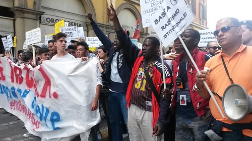 Manifestazione dei migranti / Migrants demo 18.05.14 Bologna #mayofsolidarity