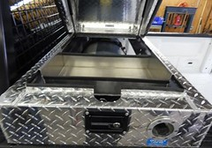 23.5 GGE Type 4 Cylinder with CNG Tool Box Cover