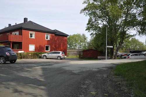 Tverrforbindelse Dalen hageby before 39686   by Miljøpakken