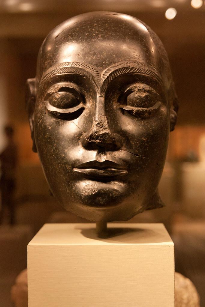 Mesopotamia, probably from Girsu (modern Tello) ca. 2090 B.C.  The Metropolitan Museum allows photo shooting providing there is no financial gain.  Please respect their policy