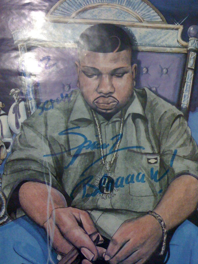 dj screw poster signed by spice1 | mister_aok | Flickr